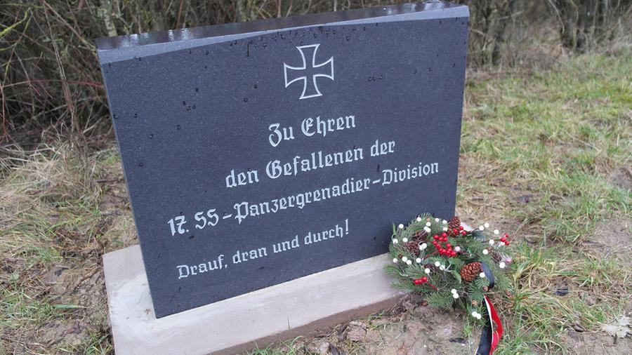 23.04.2018: Wohnungsdurchsuchung im Streit um Nazi-Denkmal