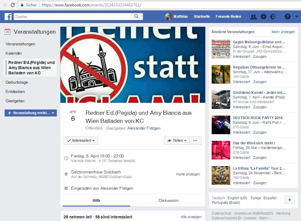 """06.04.2018: Vortragsveranstaltung von """"Sulzbach wehrt sich"""""""